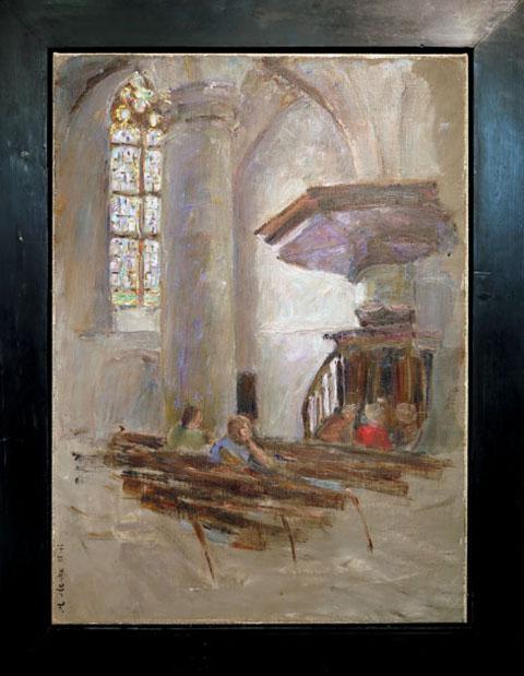 interieur met preekstoel site
